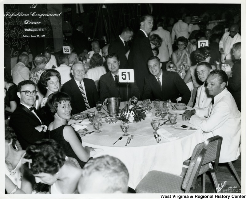 Table 51 at the Republican Congressional Dinner in Washington, D.C.