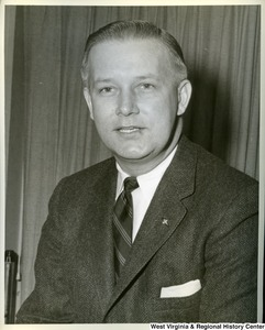 A portrait of Congressman Arch Moore, Jr.