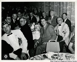 Members of the Veterans of Foreign Wars during the Winter Conference of 1963.