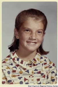 A school portrait of Shelley Moore Capito, daughter of Congressman Arch Moore.